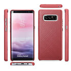 Icarer Genuine Real Leather Shockproof Back Case Cover For Samsung Galaxy Note 8