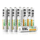 EBL 4/8/16/20pcs 1.2V AA/AAA NI-MH 800/1100/2300/2800mAh Rechargeable Batteries