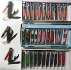 "WHOLESALE LOT OF 12,24-""AMERICAN FLA"" 3WAY NAIL CLIPPERS,KNIFE,CAN BOTTLE OPENER"