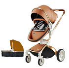 2018 Baby Stroller Hot Mom 3 in 1 travel system Bassinet Combo Pushchair folding