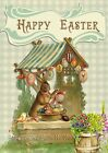 Happy Easter Rabbit ~ Cross Stitch Pattern