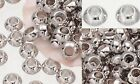Bali Sterling Silver Plated Saucer Rondell Spacer Bead 5.5mm NON TARNISH Beading