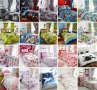 Childrens bedding kids duvet sets boys & girls unicorns space dinosaurs football