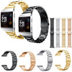Stainless Steel Wristwatch Band Metal Bracelet Replace Strap for Fitbit Ionic