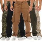 finchman Men's Cargo Pants or Casual Trousers Regular Fit Multicoloured
