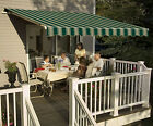 14' SunSetter Motorized Awning in Acrylic Fabric, Deck & Patio SunSetter Awnings