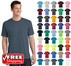 Mens Core Cotton T-Shirt Soft Color Blank Plain Solid Comfort Casual Tee PC54 image