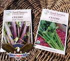 Celery Seeds - Organic Preserved Heirlooms - Non Gmo Open Pollinated - 500 SEEDS