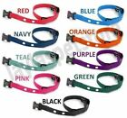 "Sparky Pet 3/4"" Heavy Duty Nylon 2 Hole 1.25"" Dog Replacement Strap- 10 Colors"