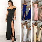 Women Formal Long Ball Gown Party Prom Cocktail Bridesmaid Evening Maxi Dress US