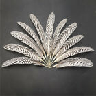 Внешний вид - 50pcs Beautiful pretty precious natural turkey feathers 7-9 inches/18-22 cm