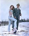8b20-14070 Diana Rigg Patrick Macnee TV The Avengers 8b20-14070 $12.99 USD