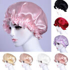 Ladies Satin Lace Elastic Colorful Chemotherapy Hat Night Sleep Hair Care