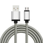 3~10FT Micro USB Fast Charger Transfer Braided Cable For Android Samsung S7 S6