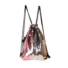 Fashion Sequin Reversible Paillette Handbag Backpack Bag Outdoor sport Travel