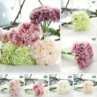 Artificial Wedding Hydrangea Flower Home Party Floral Decor 1 Bouquet / 5pcs