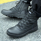 Mens Military Tactical Combat Hiking Ankle Boots Outdoor Comfort Desert Shoes