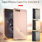 For Xiaomi 6 / Redmi Note 4X Aluminum Metal Brushed PC Hard Back Cover Case