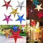 30cm 12 inch shiny star Paper lampshade lanterns flower Party Decor Craft For We