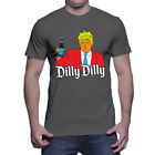 Dilly Dilly - Donald Trump President Beer Drink Medievel Bud Mens T-Shirt