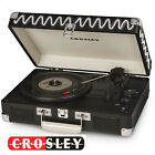 Crosley CRUISER DELUXE 3 Speed Turntable Record Player BLACK BLUE PINK RED TWEED