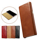 Icarer Retro Flip Genuine Real Leather Case Cover For Samsung Galaxy Note 8/S9+