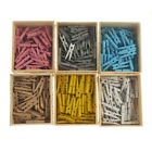 Внешний вид - Mini Wooden Clothespins, 50-Count
