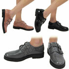 Women's Shoes Ladies Brogues Loafers Patent Suede Flat Pumps Work Office School