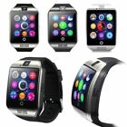 Touch Screen Smart Watch Wrist Bluetooth SIM Card Camera For Android IOS Q18