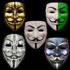 Lot * Party Masks V for Vendetta Mask Anonymous Guy Fawkes Fancy Cosplay Masks