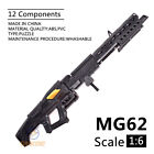 "1:6 1/6 Scale Avatar MG62 Heavy Machine Gun Weapon Fit 12"" Action Figures Model"
