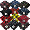 More images of Piper Scottish Kilts Fly Plaid Tartans Acrylic Wool 48x48 Thistle Brooch Chrome