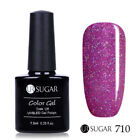 7.5ml Soak Off UV Gel Nagellack Pailletten Glitzer Nude Nail Art Gel UR SUGAR