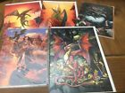 VARIOUS DRAGON GREETING CARDS WITH ENVELOPES -5 DIFFERENT DESIGNS TO CHOOSE FROM