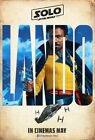 "Solo A Star Wars Story Movie Donald Glover Lando Calrissian Poster 27×40"" 32×48"" $16.9 USD on eBay"