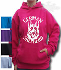GERMAN SHEPHERD DOG Alsatian  HOODIE gift Child`s & Adult`s S M L XL XXL