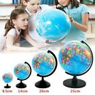8.5-25cm Rotating World Map Earth Globe   Swivel Stand Geography Educational Toy