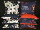 Houston Texans Astros Set of 8 Cornhole Bean Bags FREE SHIPPING on eBay
