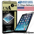 1 x Tempered Glass Screen Protector For iPad A1822 Mini Air 2 3 4 Pro 9.7 10.5 5