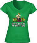 "V-NECK Ladies Philadelphia Eagles Jason Kelce ""No One Likes Us"" T-shirt"