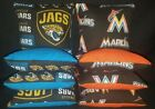 Jacksonville Jaguars Florida Marlins Set of 8 Cornhole Bean Bags FREE SHIPPING on Ebay