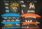 Jacksonville Jaguars Florida Marlins Set of 8 Cornhole Bean Bags FREE SHIPPING $27.99 USD on eBay
