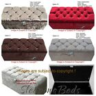 STYLISH OTTOMANS STORAGE BOX, BLANKET BOX **CHOICE OF COLOURS AVAILABLE