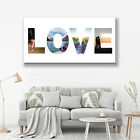 LOVE PHOTO COLLAGE CANVAS. MOTHERS DAY GIFT PERSONALISED HOME DECOR MORE IN SHOP