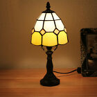 """6"""" NEW Tiffany Style Stained Glass Table Lamp Handmade Bronze-6 styles to pick"""