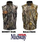 NEW Men's Elk Fork Softshell Hunting Vest Camping Hiking Shooting Mossy RealTree