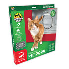 Hakuna Pets ULTRA CLEAR PET DOOR 4-Way Locking Flap *Aust Brand- Small Or Medium