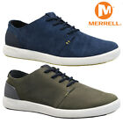 NEW MENS MERRELL LEATHER WALKING RUNNING SPORTS SKATE PLIMSOLLS TRAINERS SHOES