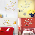 Live Laugh Love Quote Removable Wall Stickers Mirror Decal Art Room Decor Natura