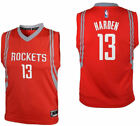 Youth James Harden Houston Rockets Red Replica Basketball Je